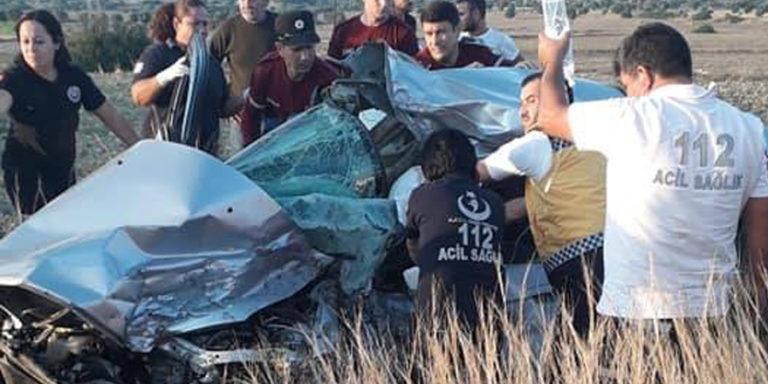 Мужчина серьезно ранен в автокатастрофе