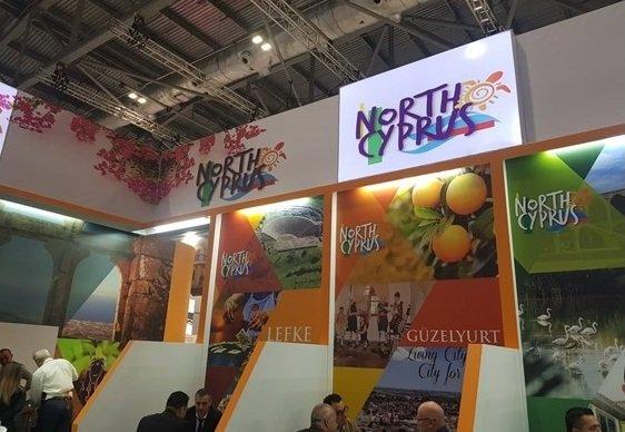 Стенд Северного Кипра на мировом туристическом рынке