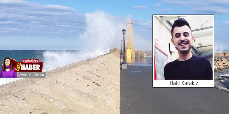 Молодой человек упал в море прогуливаясь по бордюру в Кирении