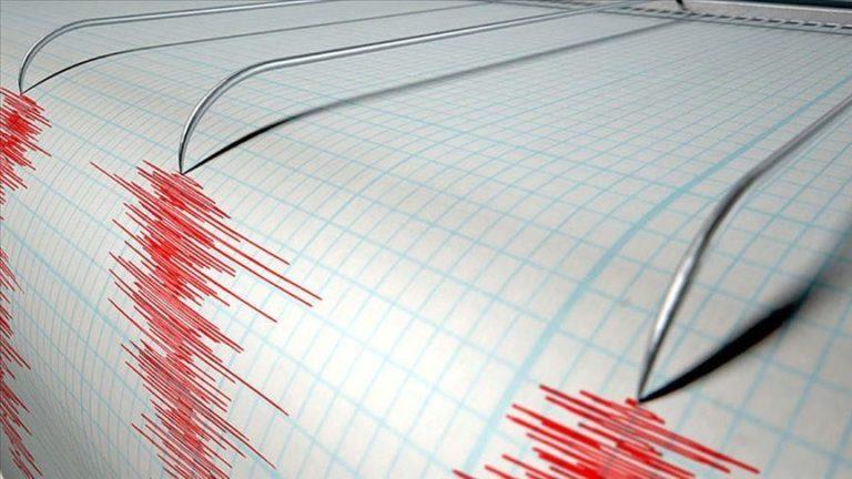Землетрясение в Средиземном море