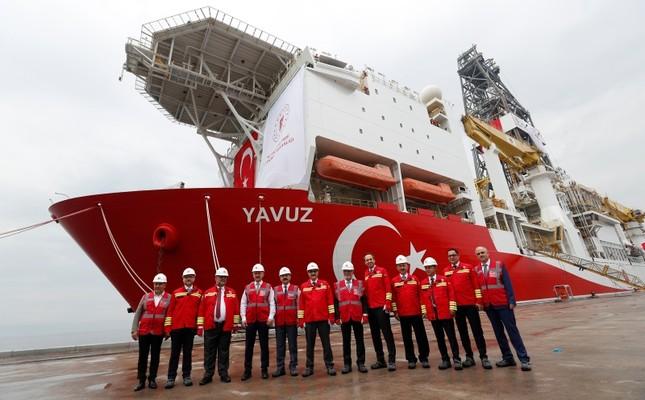 Турция предлагает приостановить бурение газовых скважин