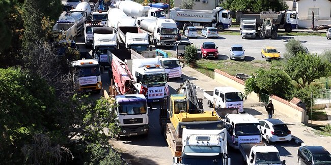 Протест вызвал пробки в Никосии