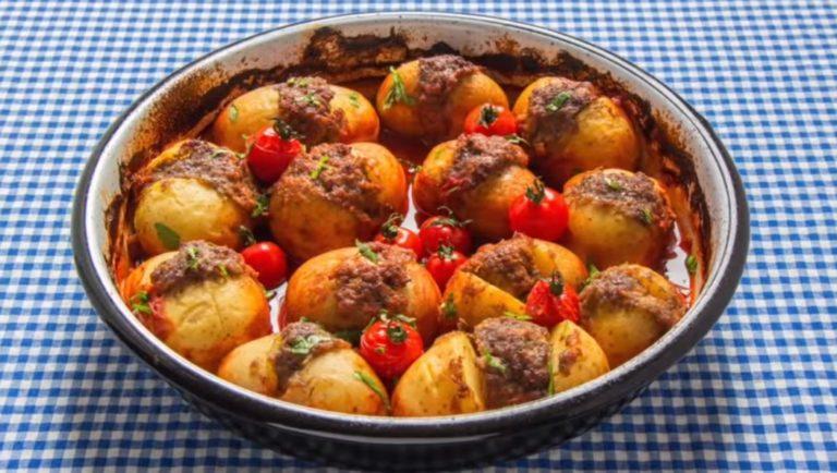 Patates Kebabi (Картофельный Кебаб)