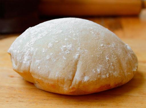 Воздушный хлеб пита на сковороде