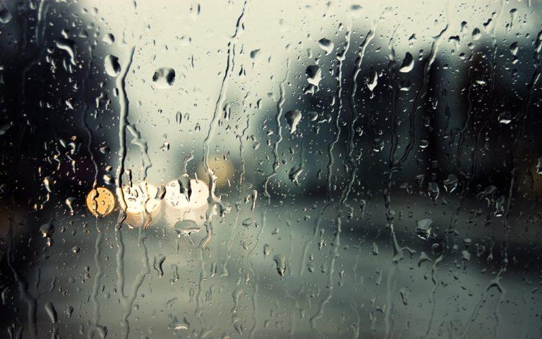 Ожидается дождь и более низкая температура