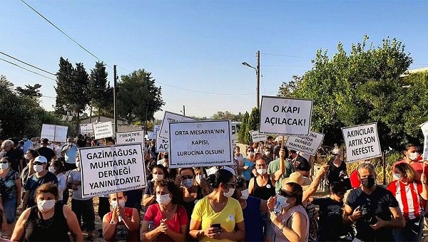 Жители деревни Акынджылар требуют открытия КПП