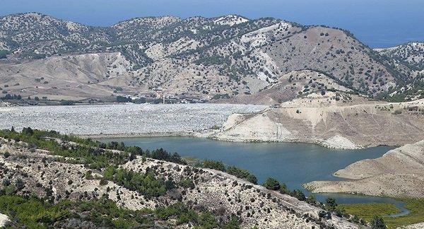 Снизился уровень воды в водохранилище Гечиткёй