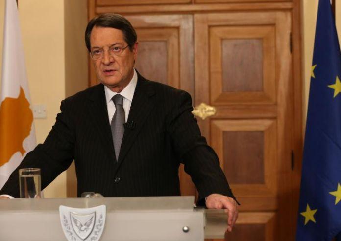 Анастасиадис готов к возобновлению переговоров по кипрскому урегулированию