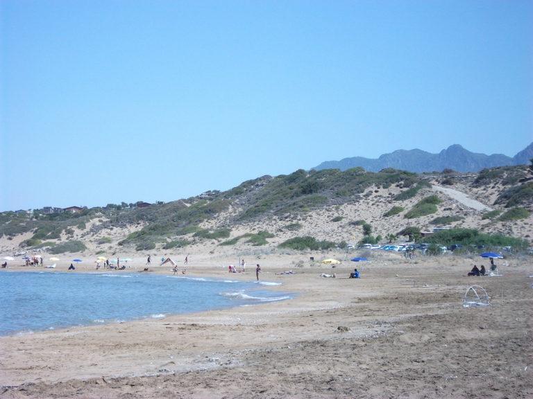 Молодой человек утонул на пляже Алагади