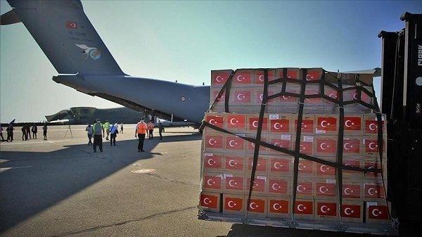 Красный Полумесяц Турции отправил палатку для поликлиники Гузельюрта