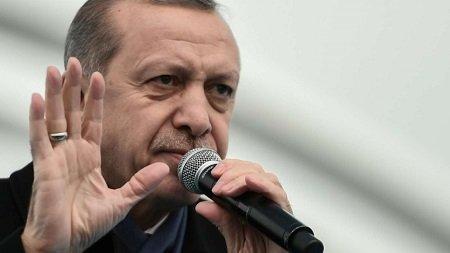 Рейсы в аэропорту Эрджан приостановлены из-за визита президента Турции