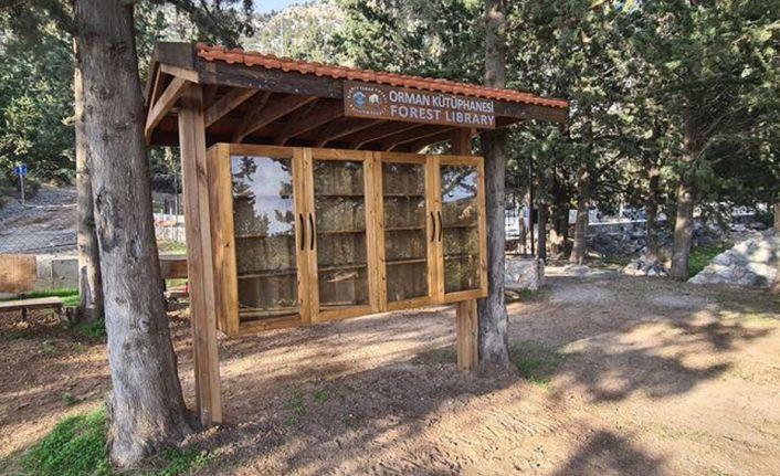 В парке Taşkent открылась лесная библиотека