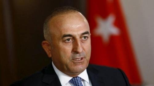 Глава МИД Турции Чавушоглу прибывает в ТРСК