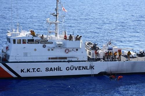 Лодка с беженцами была найдена у мыса Коручам