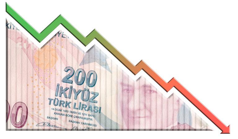 Турецкая лира резко упала в стоимости