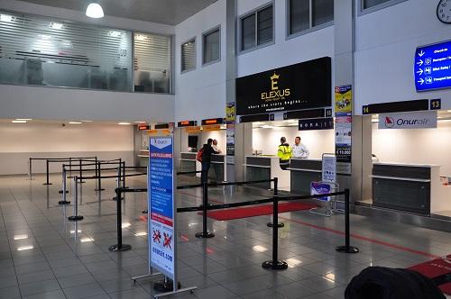 Из-за забастовки в аэропорту Эрджан были задержаны рейсы