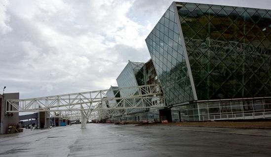 Новое здание аэропорта должно открыться в конце 2021 года